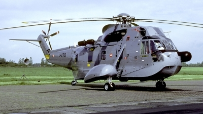 Photo ID 55666 by Carl Brent. Denmark Air Force Sikorsky S 61A 1 Seaking, U 279