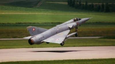Photo ID 56062 by Martin Thoeni - Powerplanes. Switzerland Air Force Dassault Mirage IIIS, J 2331