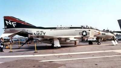 Photo ID 6913 by Ted Miley. USA Navy McDonnell Douglas F 4B Phantom II, 153030