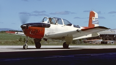 Photo ID 55652 by Carl Brent. Uruguay Navy Beech T 34A Mentor, 261