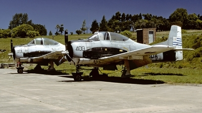 Photo ID 55687 by Carl Brent. Uruguay Navy North American T 28A Fennec, 409