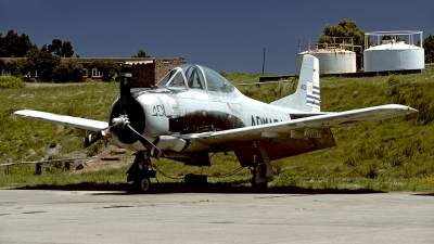 Photo ID 56056 by Carl Brent. Uruguay Navy North American T 28A Fennec, 401