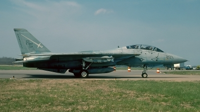 Photo ID 55476 by David F. Brown. USA Navy Grumman F 14A Tomcat, 160901