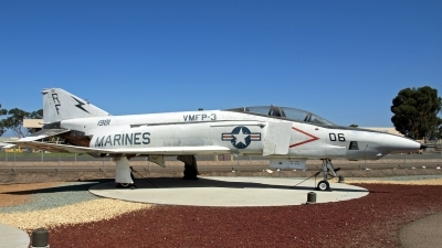 Photo ID 55709 by Eric Tammer. USA Marines McDonnell Douglas RF 4B Phantom II, 151981
