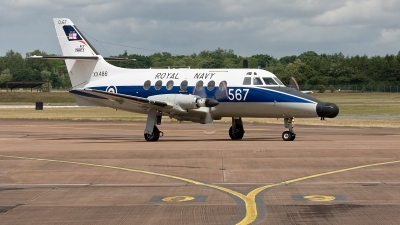 Photo ID 56052 by Jim Collins. UK Navy Scottish Aviation HP 137 Jetstream T2, XX486