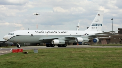Photo ID 56083 by PAUL CALLAGHAN. USA Air Force Boeing OC 135B 717 158, 61 2670
