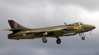 Photo ID 55785 by Alex Staruszkiewicz. Private Private Hawker Hunter F58, SE DXM