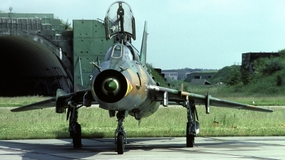 Photo ID 56124 by Carl Brent. Germany Air Force Sukhoi Su 22M4 Fitter K, 25 29