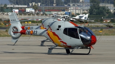 Photo ID 56284 by Richard Sanchez Gibelin. Spain Air Force Eurocopter EC 120B Colibri, HE 25 4