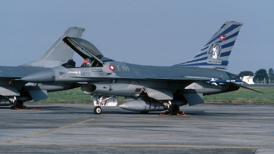 Photo ID 56387 by Henk Schuitemaker. Denmark Air Force General Dynamics F 16A Fighting Falcon, E 191