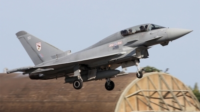 Photo ID 56407 by PAUL CALLAGHAN. UK Air Force Eurofighter EF 2000 Typhoon T1, ZJ805