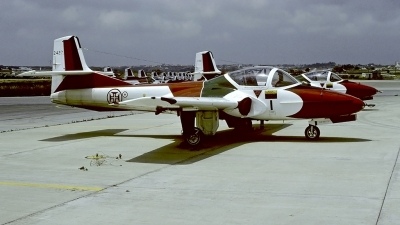 Photo ID 56574 by Carl Brent. Portugal Air Force Cessna T 37C Tweety Bird 318C, 2427