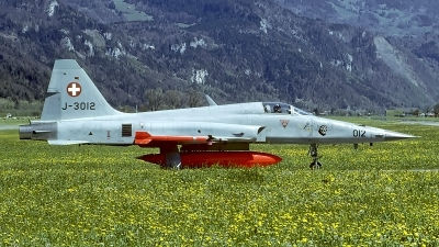 Photo ID 56572 by Carl Brent. Switzerland Air Force Northrop F 5E Tiger III, J 3012