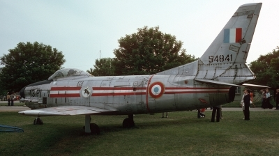 Photo ID 56457 by Alex Staruszkiewicz. France Air Force North American F 86K Sabre, 55 4841