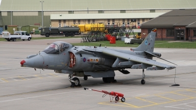 Photo ID 56637 by Barry Swann. UK Navy British Aerospace Harrier GR9, ZD330