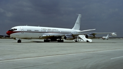 Photo ID 56663 by Carl Brent. Spain Air Force Boeing 707 331B, T 17 1