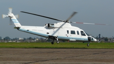 Photo ID 57074 by Martin Kubo. Argentina Government Sikorsky S 76B, H 02