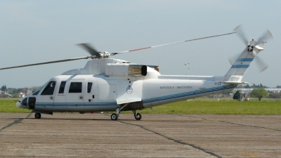 Photo ID 57075 by Martin Kubo. Argentina Government Sikorsky S 76B, H 02