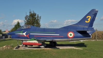 Photo ID 57089 by Lieuwe Hofstra. Italy Air Force Fiat G 91 PAN, MM6241