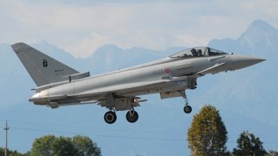 Photo ID 57081 by Lieuwe Hofstra. Italy Air Force Eurofighter F 2000A Typhoon EF 2000, MM7291