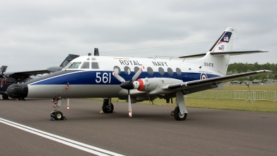 Photo ID 57206 by Rainer Mueller. UK Navy Scottish Aviation HP 137 Jetstream T2, XX476