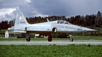 Photo ID 57628 by Carl Brent. Switzerland Air Force Northrop F 5E Tiger II, J 3049