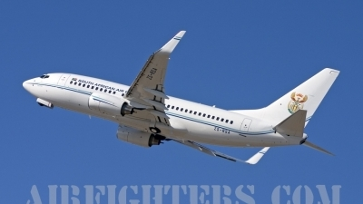 Photo ID 7183 by Gordon Zammit. South Africa Air Force Boeing 737 7ED BBJ, ZS RSA