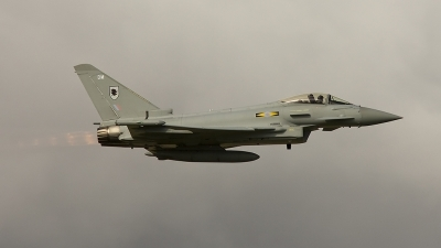Photo ID 58069 by Liam Paul McBride. UK Air Force Eurofighter EF 2000 Typhoon FGR4, ZJ923