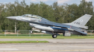 Photo ID 57783 by Andreas Zeitler - Flying-Wings. Netherlands Air Force General Dynamics F 16BM Fighting Falcon, J 210