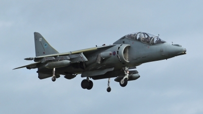 Photo ID 58273 by Mike Griffiths. UK Air Force British Aerospace Harrier T12, ZH664