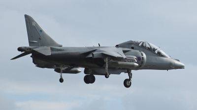 Photo ID 58507 by Mike Griffiths. UK Air Force British Aerospace Harrier T12, ZH664