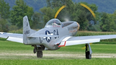 Photo ID 57934 by Martin Thoeni - Powerplanes. Private Private North American P 51D Mustang, F AZSB