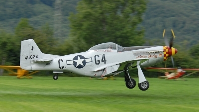 Photo ID 57933 by Martin Thoeni - Powerplanes. Private Private North American P 51D Mustang, F AZSB