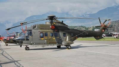 Photo ID 57970 by Martin Thoeni - Powerplanes. Switzerland Air Force Aerospatiale TH89 Super Puma AS 332M1, T 318