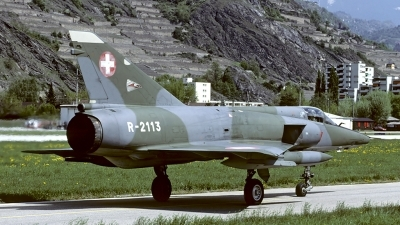 Photo ID 57901 by Carl Brent. Switzerland Air Force Dassault Mirage IIIRS, R 2113