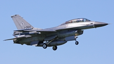 Photo ID 58590 by Tobias Ader. Netherlands Air Force General Dynamics F 16BM Fighting Falcon, J 064