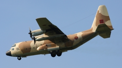 Photo ID 58015 by Koen Leuvering. Morocco Air Force Lockheed C 130H Hercules L 382, CNA OL
