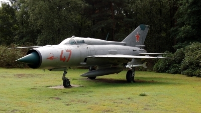 Photo ID 726 by Martijn Koster. Russia Air Force Mikoyan Gurevich MiG 21PFM, 47 RED