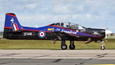 Photo ID 7283 by David Marshall. UK Air Force Short Tucano T1, ZF448