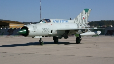 Photo ID 7301 by Ales Nyvlt. Czech Republic Air Force Mikoyan Gurevich MiG 21MFN, 2500