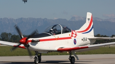 Photo ID 58793 by Paul Newbold. Croatia Air Force Pilatus PC 9M, 064