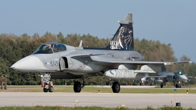 Photo ID 59247 by Andras Brandligt. Czech Republic Air Force Saab JAS 39C Gripen, 9245