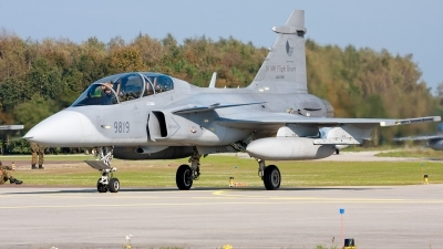 Photo ID 59259 by Andras Brandligt. Czech Republic Air Force Saab JAS 39D Gripen, 9819