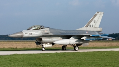 Photo ID 59243 by Andras Brandligt. Netherlands Air Force General Dynamics F 16AM Fighting Falcon, J 014