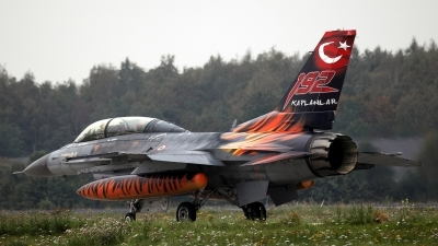 Photo ID 59423 by Robert Hoeting. Turkey Air Force General Dynamics F 16D Fighting Falcon, 93 0696