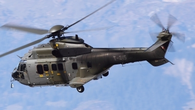 Photo ID 59488 by Ludwig Isch. Switzerland Air Force Aerospatiale TH89 Super Puma AS 332M1, T 315
