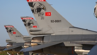 Photo ID 59601 by Mick Balter - mbaviation-images. Turkey Air Force General Dynamics F 16C Fighting Falcon, 92 0001