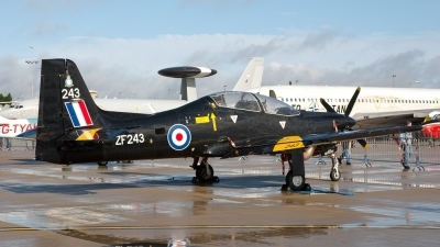 Photo ID 7407 by Jeremy Gould. UK Air Force Short Tucano T1, ZF243