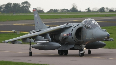 Photo ID 59781 by E de Wissel. UK Air Force British Aerospace Harrier GR9A, ZD467