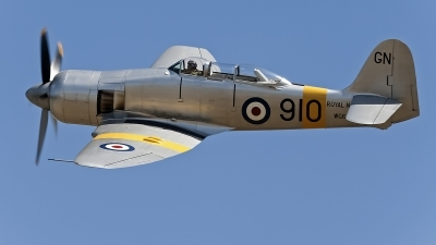 Photo ID 61931 by Niels Roman / VORTEX-images. Private The Fighter Collection Hawker Sea Fury T20, NX20MD